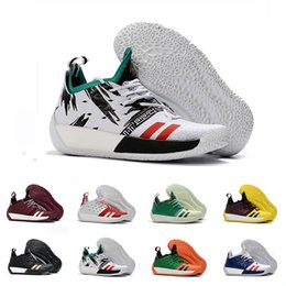 6bbfb88b3fc High Quality James Harden Vol.2 Basketball Shoes For Men Fashion Black  White Red Green Orange Blue Grey Brown Wine Sports Sneakers