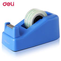 Ruban de charcuterie en Ligne-Deli Tape Adhésif Cutter Masking Tape usine carton fournitures respectueux de l'environnement de haute qualité Distributeur Cutter taille 18 mm