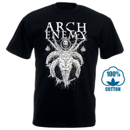 Camicia Arch Enemy Horned capra S M L Officl Death Metal maglietta maglietta da
