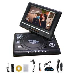 2019 placa de tv analógica 7.8 '' 9.8 '' Hot Sales Car DVD Player DVD Players portáteis FM TV Analógica Jogos de CD VCD com Leitor de Cartão USB placa de tv analógica barato