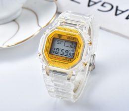 Moda Chegada Dos Homens Das Mulheres G Estilo LED Relógio Multifuncional Digital Choque Esporte Relógios Homens Estudantes Relógios de Pulso Menina Relógio de