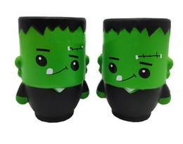 2019 brinquedos zumbis para crianças Squishy Brinquedos Halloween Verde Zombies Vent Squeeze brinquedo Para Crianças Lento Rising Wizard Brinquedos Presentes charme do telefone brinquedos zumbis para crianças barato