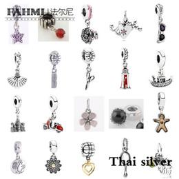pettine a forma di cuore Sconti FAHMI Thai argento stella a cinque punte occhiali da sole a forma di cuore fan pettine forbici nave castello moto collezione in edizione limitata