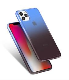 2019 силиконовый чехол для iphone Для iPhone 11 Pro 11 Pro Max силиконовый чехол Анти-Царапины градиент цвета Ударопрочный Мягкий чехол для iPhone 11 2019 Case Clear дешево силиконовый чехол для iphone