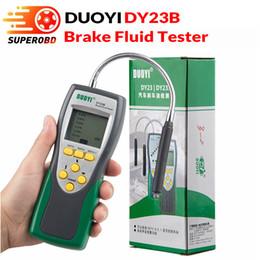 visualizzazione a punti lcd Sconti DY23b Automative Brake Fluid Tester Duoyi (con batteria 9V) 9V Digital display LCD DY23 inclusa DOT 3/4 / 5.1 DY23B
