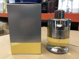 2019 mejores fragancias MARCA Solid Fashion Bullet 100ml Perfume de pino para hombres para larga duración Eau De Parfum de calidad superior CZ138 mejores fragancias baratos