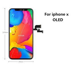 touchscreen glas s5 Rabatt Für iPhone X LCD Display Touchscreen Digitizer Grade A +++ OLED GX-Qualität mit Garantie auf Lebenszeit