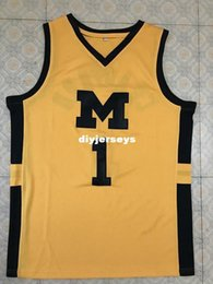 45194c5eab37  1 Jamal Crawford Michigan Wolverines College Top Basketball Jersey  Stitched embroidery any Number and name XS-6XL Vest Jerseys NCAA