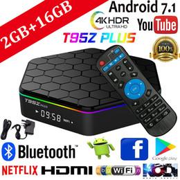 Octa tv box online-2 GB 16 GB T95Z Plus Smart-TV-Box Amlogic S912 Octa Core Android 7.1 TV-BOX-Unterstützung IPTV BT4.0 4K