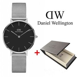 watch girls strip Coupons - hot Fashion Girls Steel strip Daniel Wellington watches 32mm women watches Daniel wellington Quartz Watch DW Clock Wrist watches Relogio