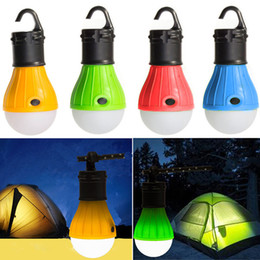 Batterie im freien hängen licht online-LED Camping Licht tragbare Mini-Zelt Licht batteriebetriebene Outdoor-Hängelampe wasserdicht Laterne Schlafzimmer Nachtlicht Angeln