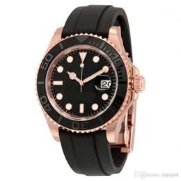 skmei военные часы водонепроницаемые случайные привели Скидка Мужские часы YACHT MASTER 40 мм Резина из розового золота с автоматическим механизмом Механические мужские наручные часы из нержавеющей стали Бесплатная доставка
