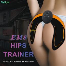 Canada 2018 Électrique EMS Massage De La Hanche Massage Stimulateur Musculaire Formateur Anti-Cellulite Rechargeable Fesses Levage Enhancer Tonifier Dispositif De Masseur Offre