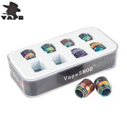 2019 резиновый уплотнитель Эпоксидная смола для капельного наконечника Цветные наконечники с широким отверстием для капель 810 Мундштук для TFV8 Большой детский Tfv12 Бак для TFV8 TFV12 Детский бак E Cig
