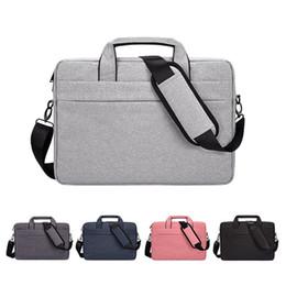 organizador bolsas mensageiro Desconto 13 '14' 15 'Laptop Bag Maleta de Viagem com Organizador Expansível Grande Ombro Híbrido Saco de Negócios À Prova D' Água Mensageiro