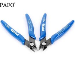 Câble à pinces en Ligne-Couteau à dénuder Pince à sertir Pinces Pinces en acier au carbone Pince coupante pour câbles électriques Coupe latérale Cisailles Snips