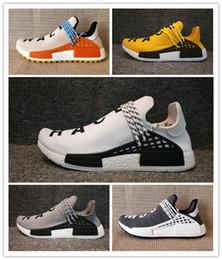 Raza humana para hombre Trail Zapatos para correr Pharrell Williams HU Pk Runner Cómoda Moda Luz Verano Hombres Mujeres Zapatillas Con Caja desde fabricantes