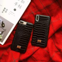 Etui en cuir de luxe avec logo crocodile pour iphone xs max 7 8 plus la housse classique reto croc pour iphone x 6 6s xr ? partir de fabricateur