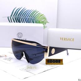 2019 nuevas gafas de sol polorized Lentes Lentes de sol de lujo de marca para mujer para hombre Adumbral Lentes de 6 colores de alta calidad con la caja. desde fabricantes