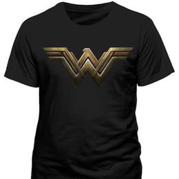 logotipos de filmes Desconto Mulher Maravilha-Gal Gadot Filme Logo T Shirt-NEW OFICIAL Engraçado frete grátis Unisex Casual Tshirt top