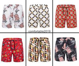 hombres abajo de los pantalones Rebajas No me rechaces el diseño de la marca de cinco piezas de verano colorido patchwork serie moda para hombre pantalones de playa pantalones cortos para hombres deportes ropa de calle hip-ho