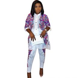 690f00839b25 2019 nuovi vestiti in stile rock 2019 NEW Africa Abbigliamento Stampa Bazin  Elastico Pantaloni Larghi Stile