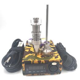 Chiodo elettrico del Dab dei sistemi di perforazione portatili del dab poco costoso con la scatola del regolatore di PID di 20mm DHL di spedizione libero da vape evic mini fornitori