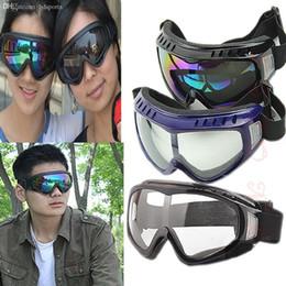 2019 gafas sin polvo Protección al por mayor-Libre del envío Gafas Tactical Paintball Gafas claras viento polvo Motocicleta rebajas gafas sin polvo