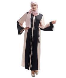 Бесплатная Доставка Горячие Женщины Мусульманский Рамадан Мода Кружевное Платье Мусульманский ИД Абая Мусульманская Мода Халат Повседневное Платье от
