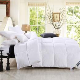 Cama de hotel branco queen size acolchoado colcha adulto gêmeo inverno colcha de uma peça frete grátis de