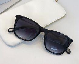 2019 occhiali da corda Nuove donne popolari occhiali da sole progettista di marca 2728 telaio quadrato corda di canapa gambe design occhiali stile semplice Eyewear protezione UV400 con scatola occhiali da corda economici