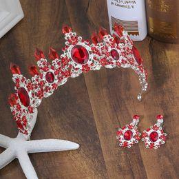 Couronne de reine accessoires en Ligne-8 couleurs mariage couronne reine de mariée diadèmes mariée couronne 2019 bandeau accessoires de mariage diadème mariage cheveux bijoux ornements