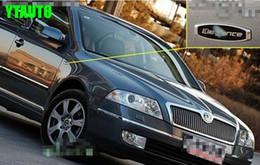 2019 emblème d'octavie Autocollant d'emblème de voiture pour Octavia, fabia, superbe style Elegance rapide emblème d'octavie pas cher