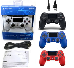 s3 tv telefon Rabatt Bluetooth PS4 Controller Gamepad Joystick Playstation für PS4 Controller mit Kleinpaket Dhl