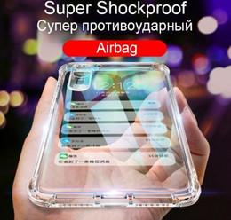 Casi chiari del telefono delle cellule del silicone online-2019 della cassa della radura Super antiurto per Huawei P30 Pro Mate 20 Cell Phone Lite morbido silicone copertura posteriore del Coque di alta qualità