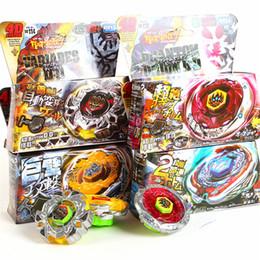 Tormenta beyblade online-4D Beyblade Set Toy Storm Pegasus Alloy Constellation Gyro Set Mejores juguetes divertidos para niños Regalo de Navidad