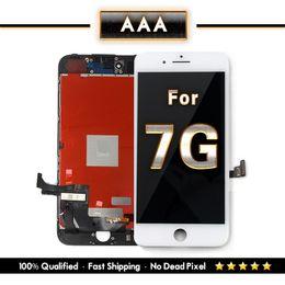 2019 мобильные телефоны wiko Для iPhone 7 ЖК-дисплей замена с 3D сенсорный экран Digitizer Ассамблеи черный белый цвет смешивания Бесплатная доставка
