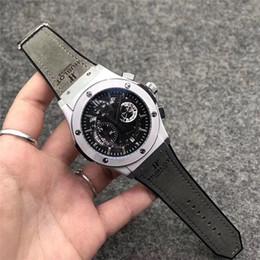 2019 areia de quartzo atacado Relógio de pulso dos homens multi-função de alta qualidade top marca de luxo movimento de quartzo dos homens grandes mostrador esportes relógio militar assista