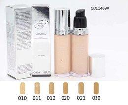 2019 porzellanhaut Hochwertige neue nackte Haut leuchtende Make-up einzigartige natürliche einfach sublime Fluid Foundation FPS 15 SPF 40ml 1.38FL.OZ