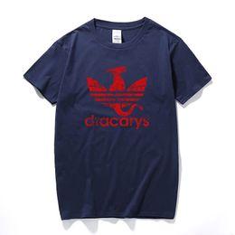 ced797c64d4f YUAYXEA Dracarys Sport Unisex Adults T-Shirt harajuku Vintage style T shirt  Camisetas hombre Tshirt Men Clothing