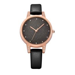 Mode Casual Femmes Montres De Luxe Cristal Quartz Montre Exquise Imperméable En Cuir Lady Montre-Bracelet Horloge ? partir de fabricateur