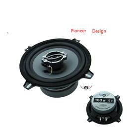 2019 alto falante Venda quente 2018 Speaker 5.25 polegadas 2-Way Coaxial 150 watts 4 ohm Cinza Cone de Borracha Borda Auto Component Alto-falantes para Todos O Carro