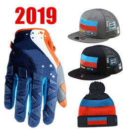 красные желтые мотоциклетные перчатки Скидка 2019 Motorcycle Gloves ATV Team Motocross Gloves For moto Pom Beanie Team Snapback  Mountain Bike MX Glove