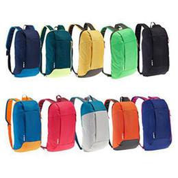 Sacs à dos d'été en Ligne-24 couleurs sports de plein air sac à dos loisirs femmes été touristique enfants école épaule sac à dos portable sport en plein air sacs ZZA637