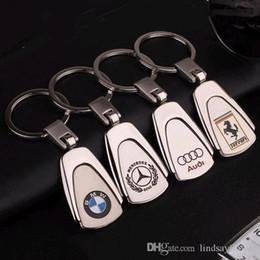2019 capas remotas nissan 2 Pieces Metal 3D Car Chaveiro Chaveiro Para BMW Audi Auto Chaveiro Car-styling Chaveiro Automotive Keyfob pingente de presente Acessórios Car