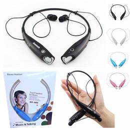 Écouteur iphone 5c en Ligne-Coloré TONE HV800 HV-800 Stéréo Bluetooth Stéréo Sport sans fil Bluetooth 800 écouteurs pour Iphone 4 5 5s 5c LG samsung
