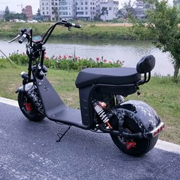 Uma roda scooters on-line-Carro elétrico Scooter elétrico de duas rodas Barra dupla e um toque 60V20A 1850X750X850 (mm)