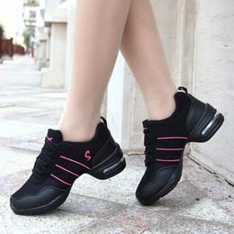 2019 chaussures de danse jazz 2019 nouvelle mode sport chaussure chaussures de danse maille fond souple jazz danse chaussures sport fitness chaussure personnalité chaussures de sport chaussures de danse jazz pas cher