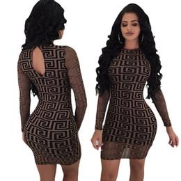 2019 projeto do pescoço do lado de trás Mulheres Spring Fashion Dress Marca de luxo Designer Bodycon Vestidos fêmeas Vestidoes roupas elegantes