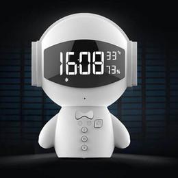 Haut-parleurs bluetooth robot en Ligne-2019 Date DingDang Mignon M10 portable Robot Haut-Parleur Bluetooth Mains Libres avec banque d'alimentation AUX TF MP3 Lecteur de Musique